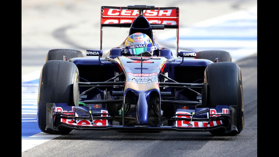 Jean-Eric Vergne - Toro Rosso - Formel 1 - Test - GP Bahrain - 9. April 2014