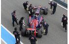 Jean-Eric Vergne - Toro Rosso - Formel 1 - Test - Jerez - 28. Januar 2014