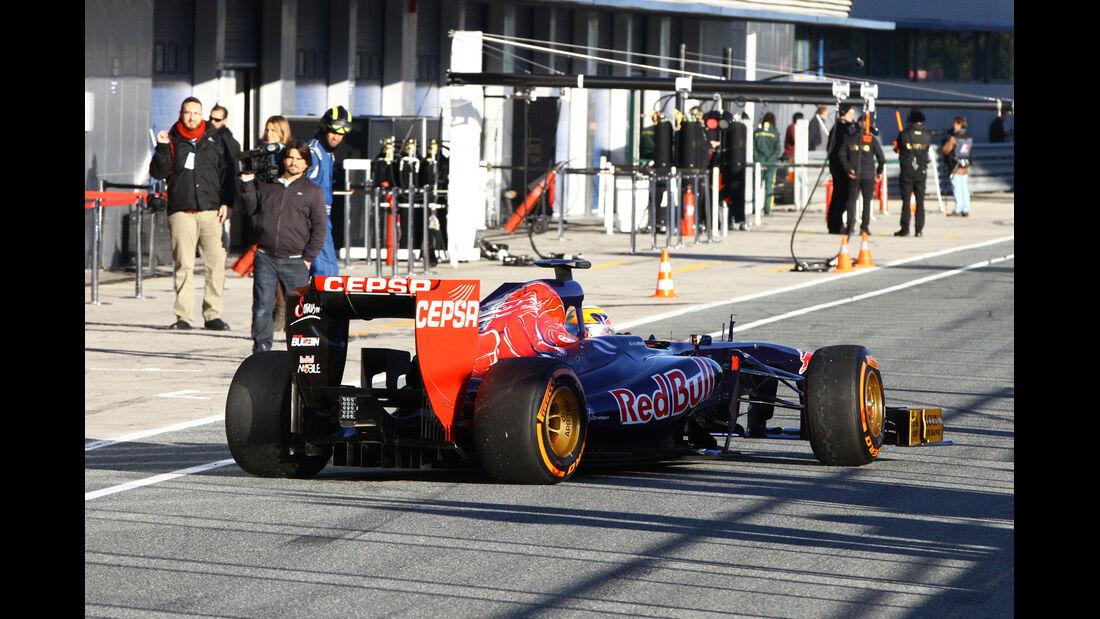 Jean-Eric Vergne - Toro Rosso - Formel 1 - Test - Jerez - 8. Februar 2013