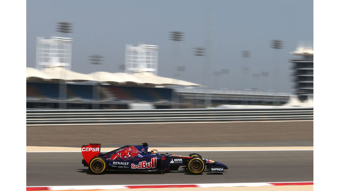 Jean-Eric Vergne - Toro Rosso - GP Bahrain - Test 2 - 9. April 2014