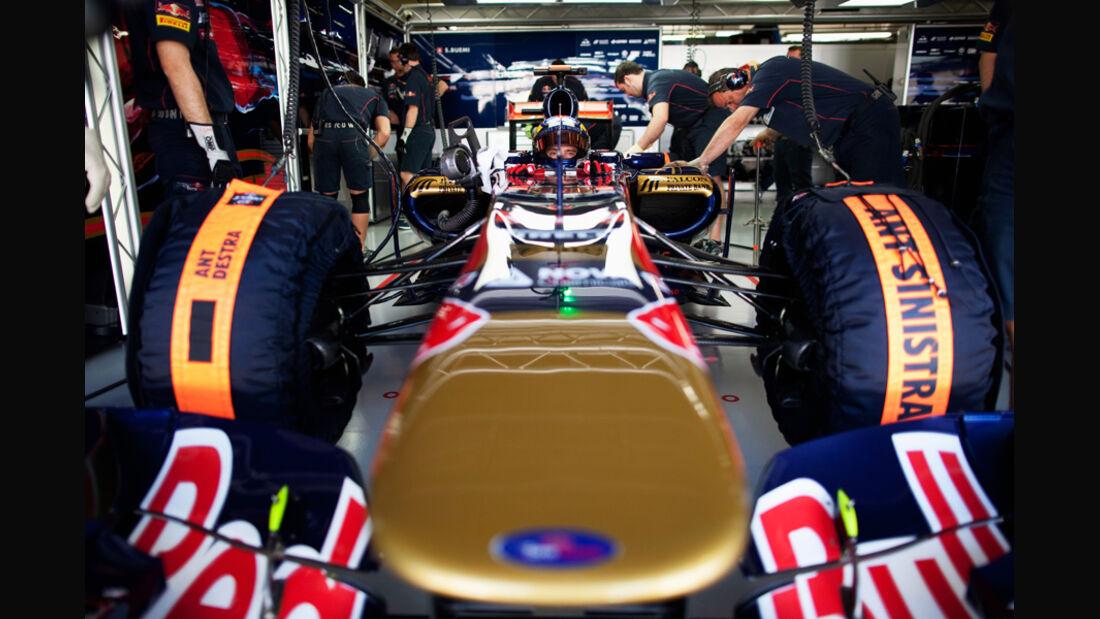 Jean-Eric Vergne Toro Rosso GP Brasilien 2011
