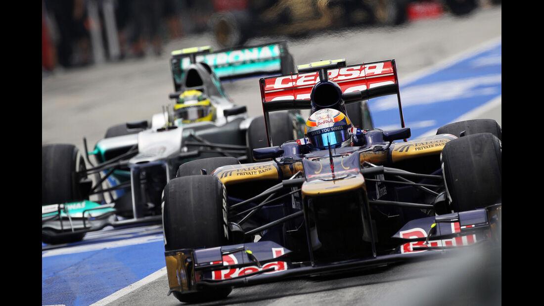 Jean Eric Vergne - Toro Rosso - GP Malaysia - 24. März 2012