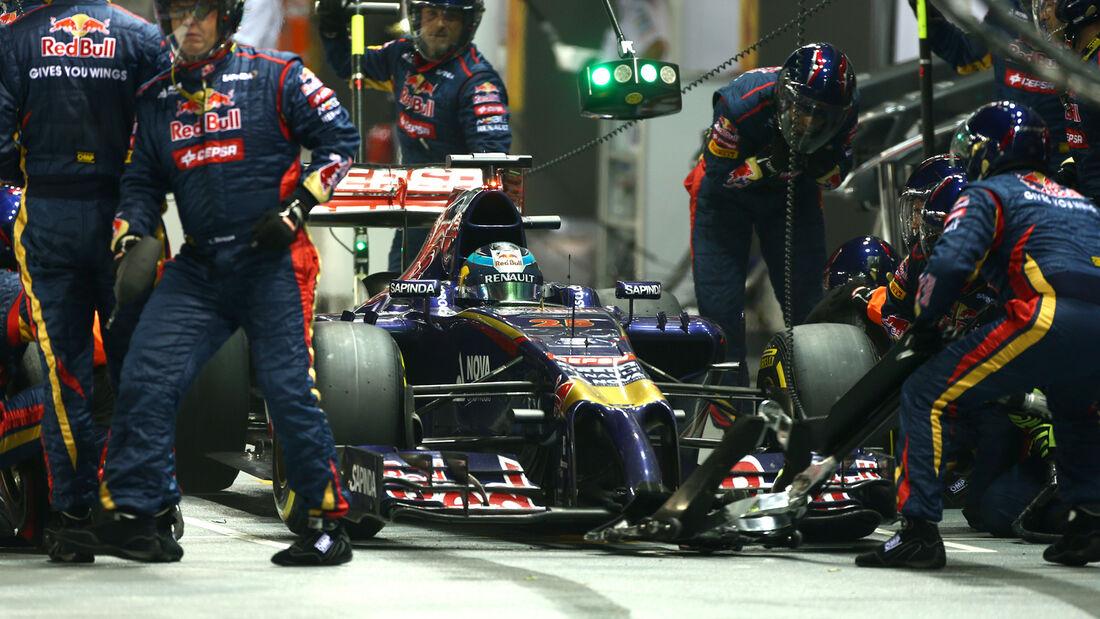 Jean-Eric Vergne - Toro Rosso - GP Singapur 2014