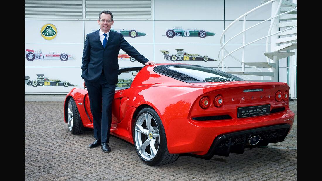 Jean-Marc Gales - Lotus - Geschäftsführer