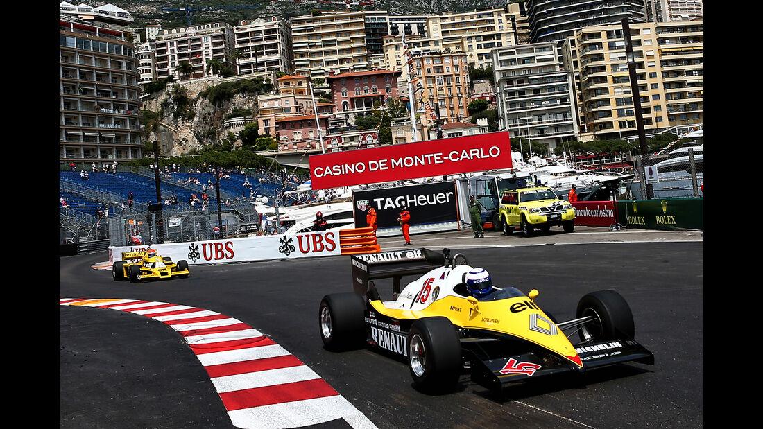 Jean-Pierre Jabouille & Alain Prost - Renault - Formel 1 - GP Monaco - 26. Mai 2017