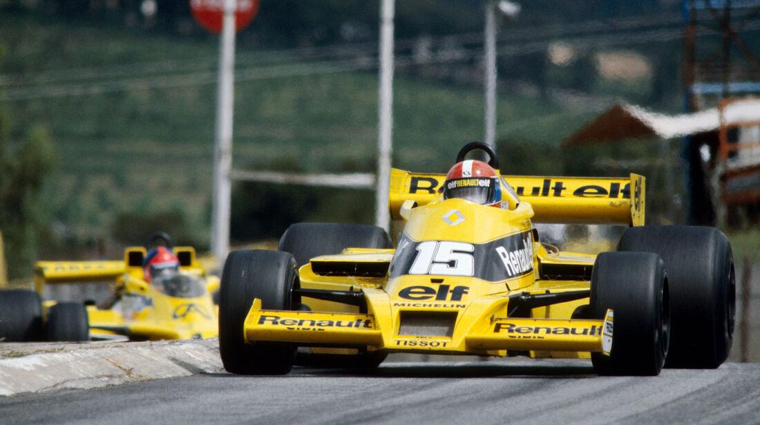 Jean-Pierre Jabouille - Renault RS01 - GP Südafrika 1978 - Kyalami