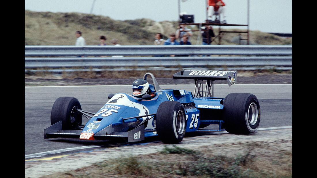 Jean-Pierre Jarier - Ligier JS21 Ford - GP Niederlande 1983 - Zandvoort