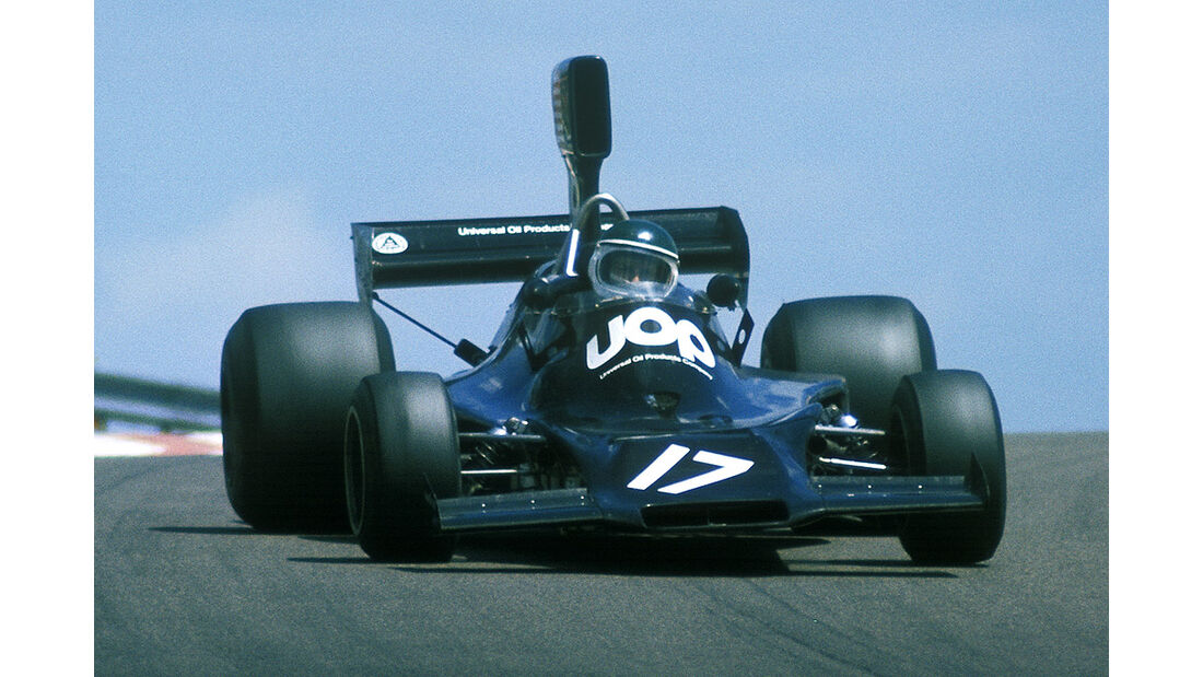 Jean-Pierre Jarier Shadow DN3 Ford