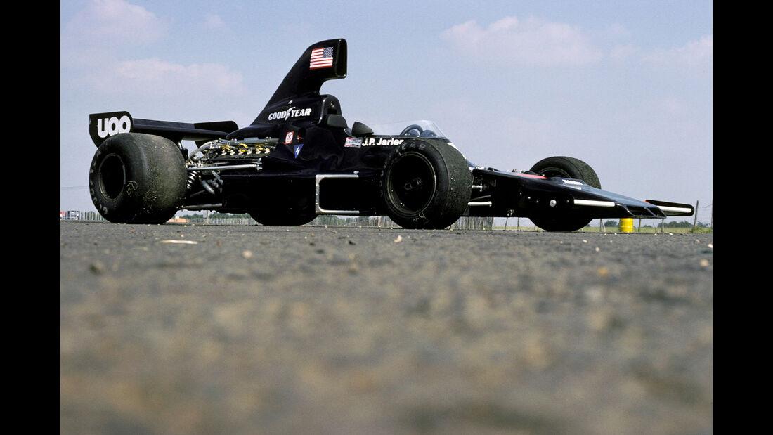 Jean-Pierre Jarier - Shadow DN7 - GP England 1975