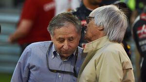 Jean Todt & Bernie Ecclestone - GP Bahrain 2016
