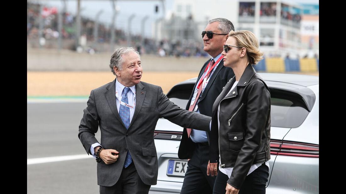 Jean Todt - Charlene von Monaco - 24h-Rennen Le Mans - Samstag - 15.06.2019