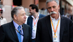 Jean Todt - FIA - Chase Carey - Liberty Media - F1
