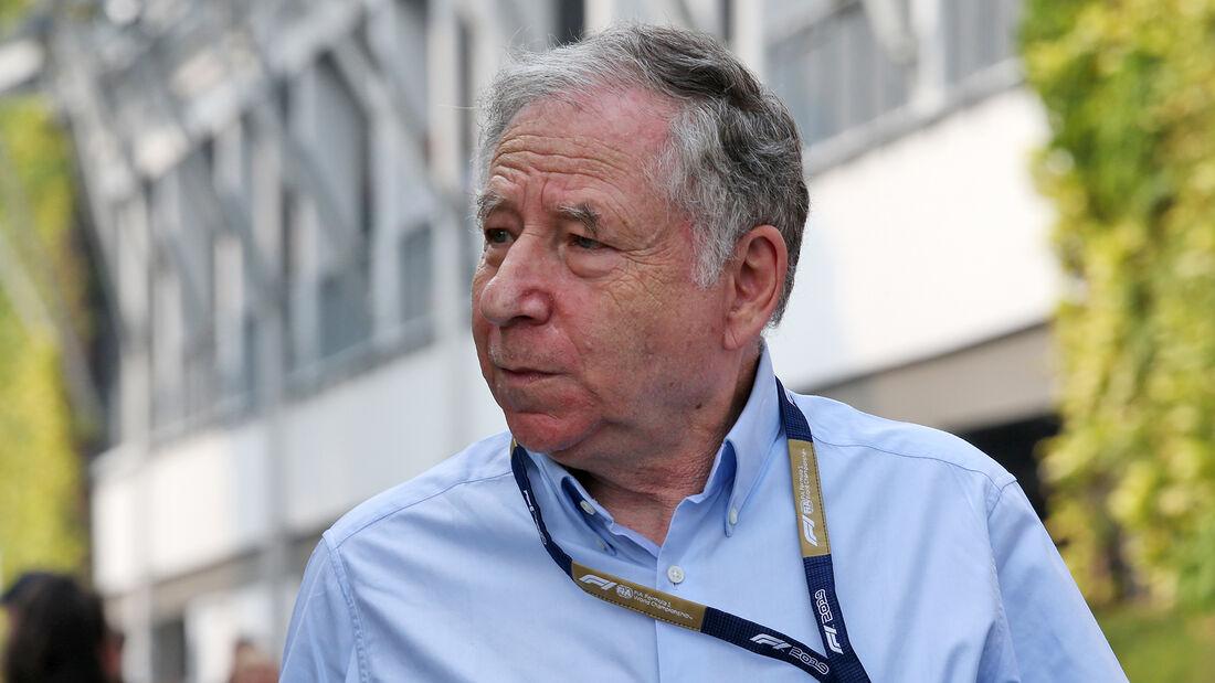 Jean Todt - Formel 1 - 2019