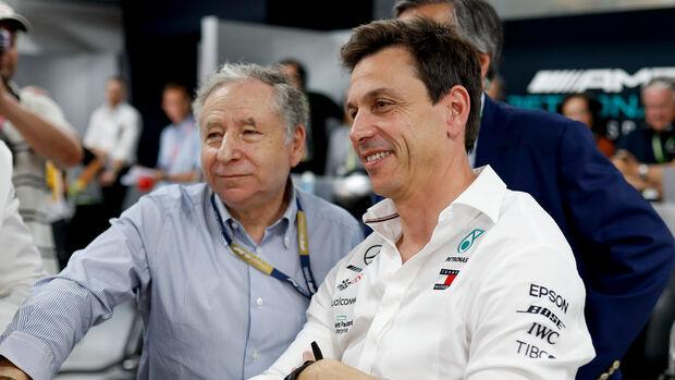 Jean Todt & Toto Wolff - Formel 1 - GP Frankreich - 22. Juni 2019