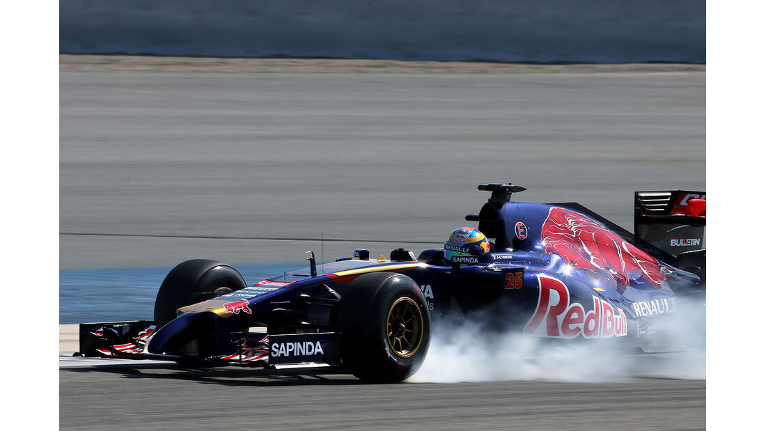 Jean-Éric Vergne - Toro Rosso - Formel 1 - Bahrain - Test - 20. Februar 2014