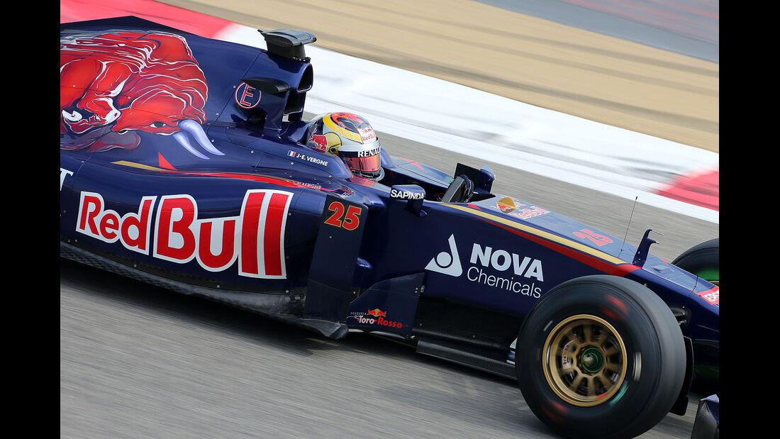 Jean-Éric Vergne - Toro Rosso -  Formel 1 - Test - Bahrain - 28. Februar 2014