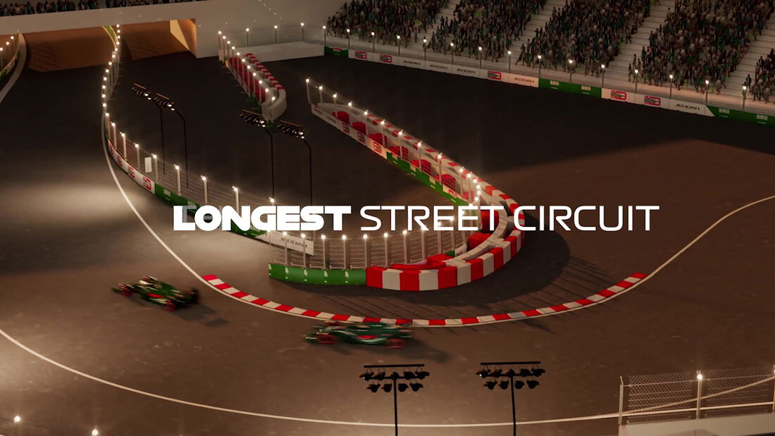 Jeddah Street Circuit - GP Saudi Arabien - F1-Strecke