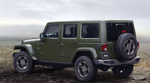 Jeep 75th Anniversary Special Edition Modelle