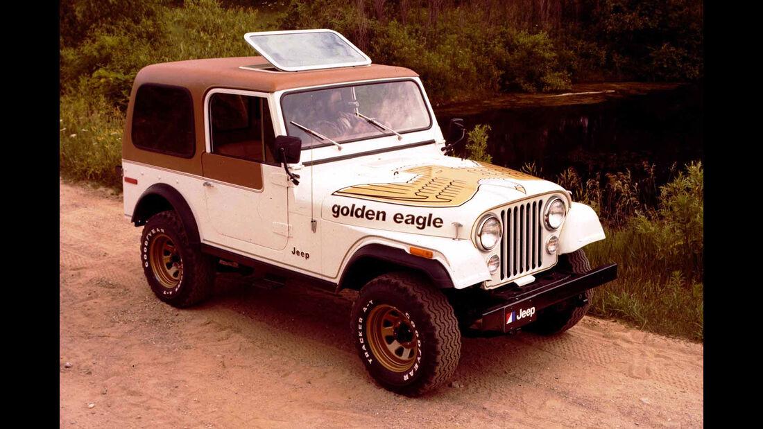Jeep CJ7 Sondermodell Golden Eagle (1976)