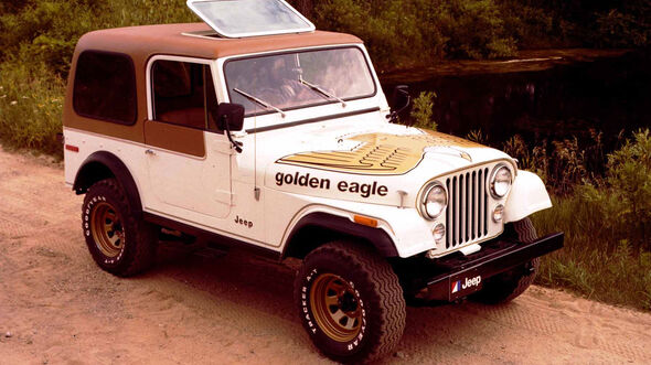 Jeep CJ7 Sondermodell Golden Eagle (1976)