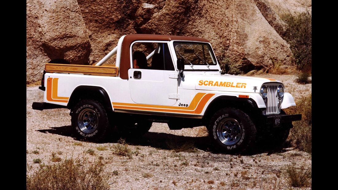 Jeep CJ8 Scrambler 1981-1985