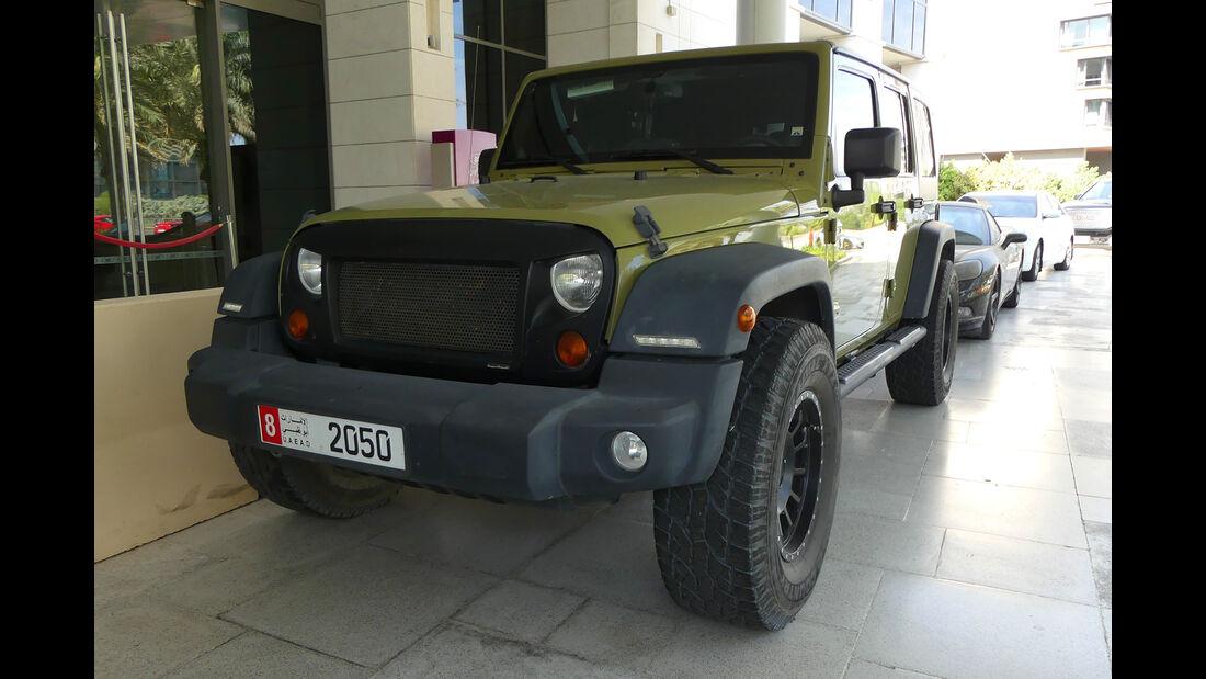 Jeep - Carspotting - GP Abu Dhabi 2018