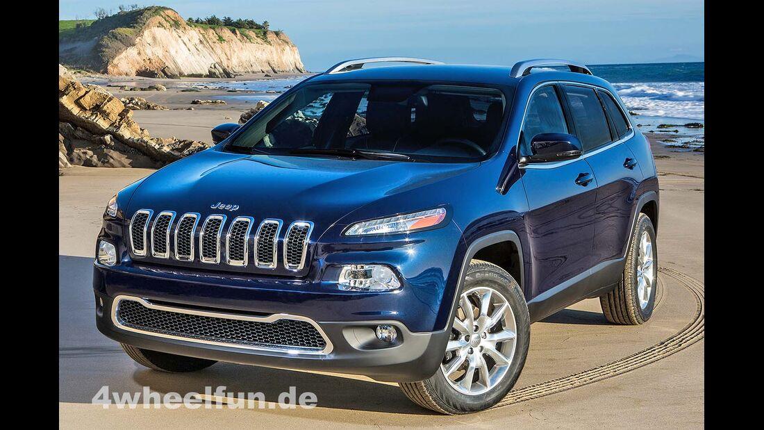 Jeep Cherokee 2014 Weltpremiere