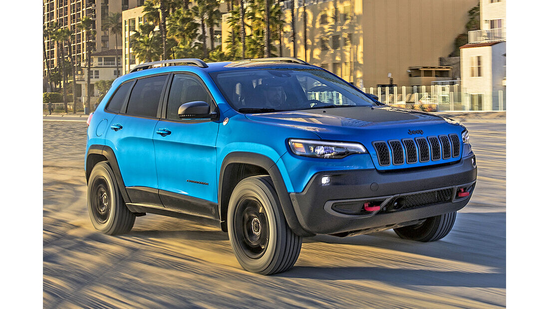 Jeep Cherokee, Best Cars 2020, Kategorie K Große SUV/Geländewagen