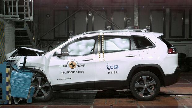 Jeep Cherokee EuroNCAP Crashtest