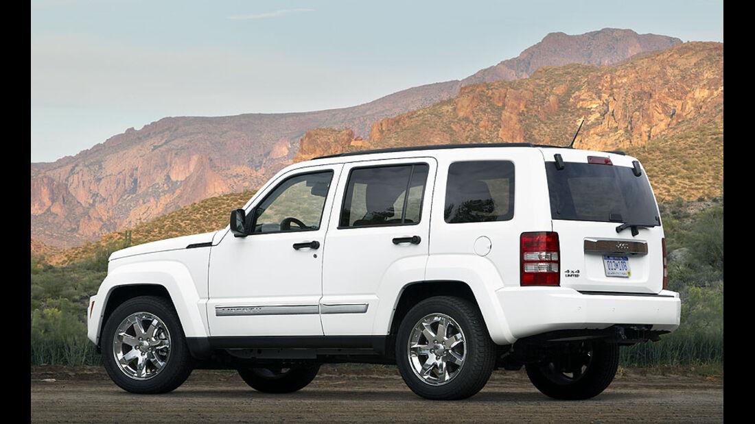 Jeep Cherokee Facelift 2011