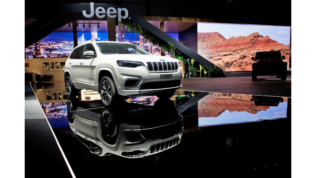 Jeep Cherokee Genf 2018