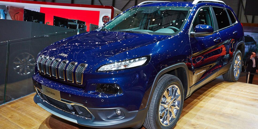 Jeep Cherokee, Genfer Autosalon, Messe, 2014
