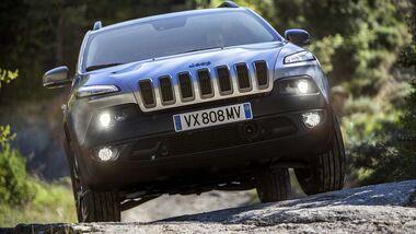 Jeep Cherokee Limited und Trailhawk Europamodelle 2014