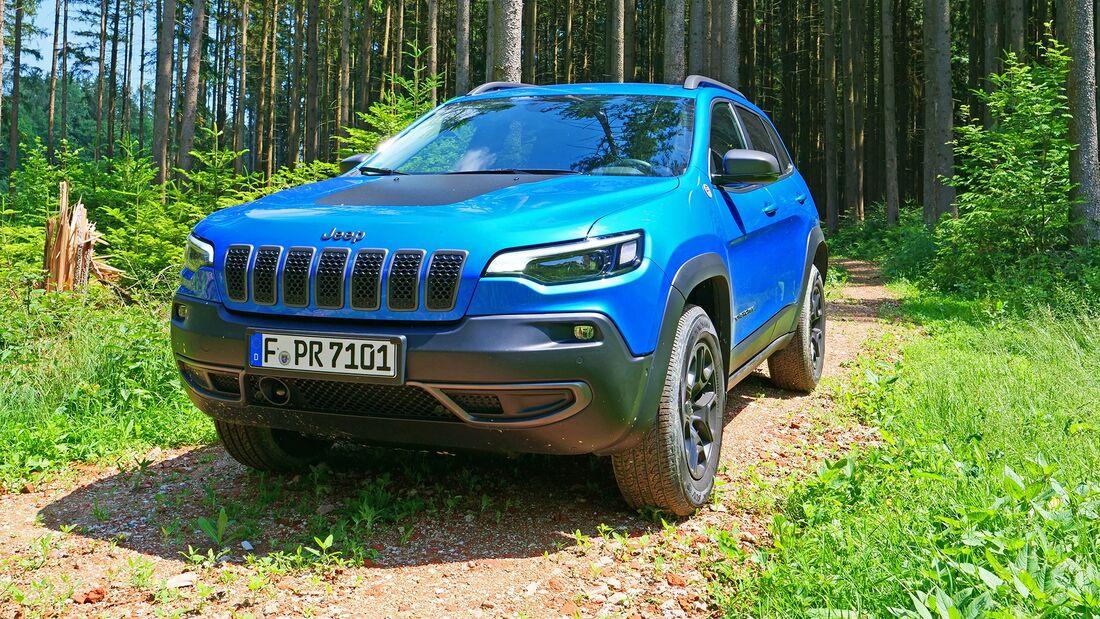 Jeep Cherokee Trailhawk 2020 Fahrbericht