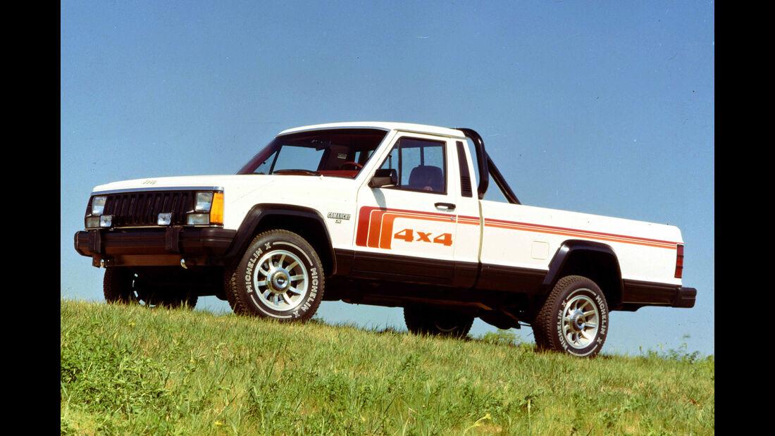 Jeep Commanche (MJ) 1986-1992