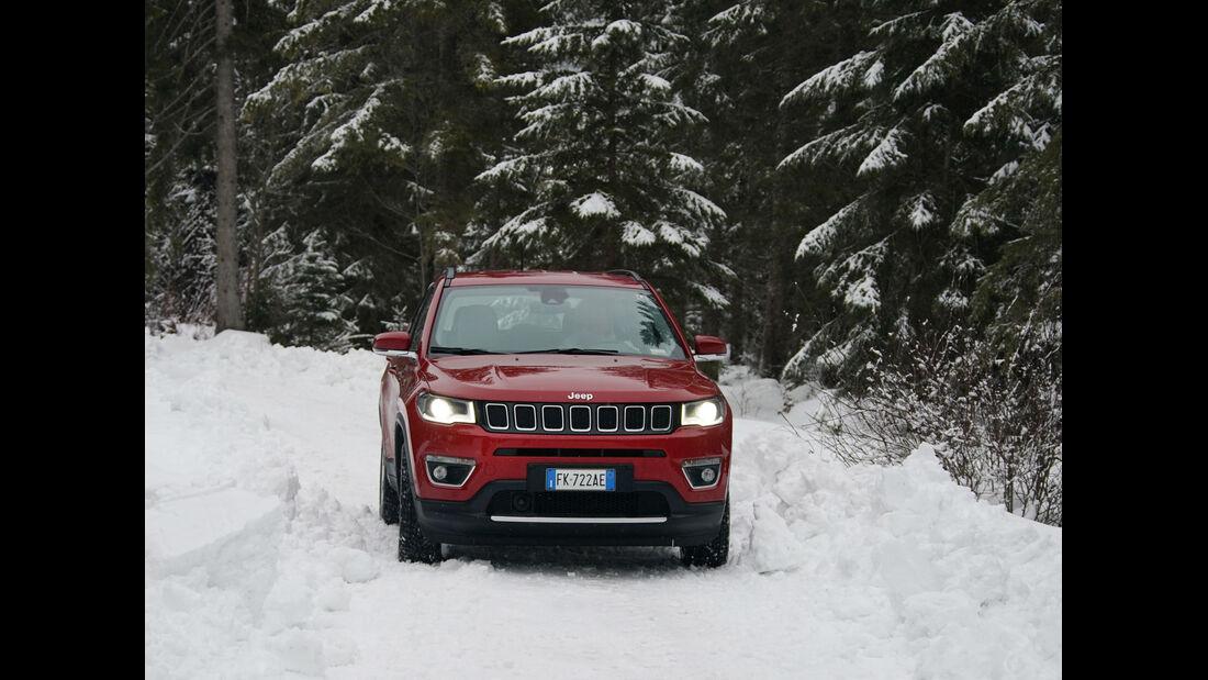 Jeep Compass 1.4l Multiair 170 PS Active Drive Limited Fahrbericht