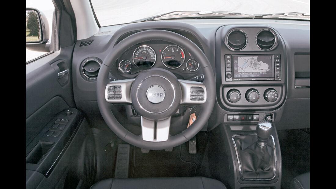 Jeep Compass 2.2 CRD, Cockpit