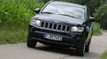 Jeep Compass 2.2 CRD Limited, Front, Frontansicht