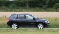 Jeep Compass 2.2 CRD Limited, Seitenansicht