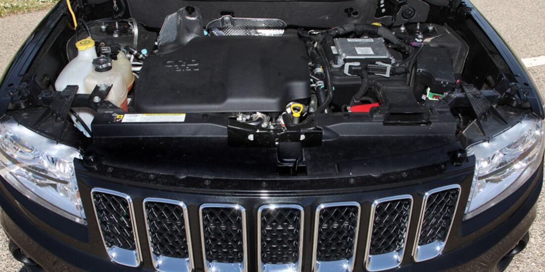 Jeep Compass 2.2 CRD, Motorraum