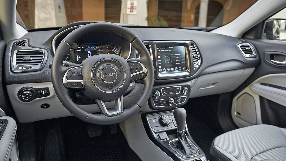 Jeep Compass 4xe S, Interieur