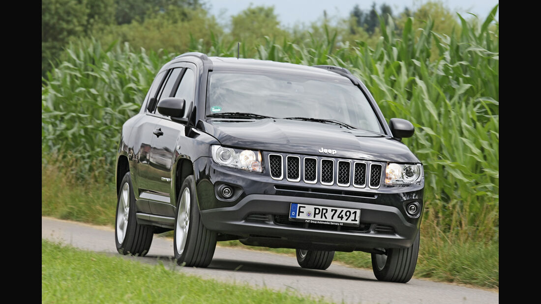 Jeep Compass, Frontansicht