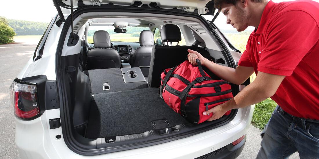 Jeep Compass Kofferraum