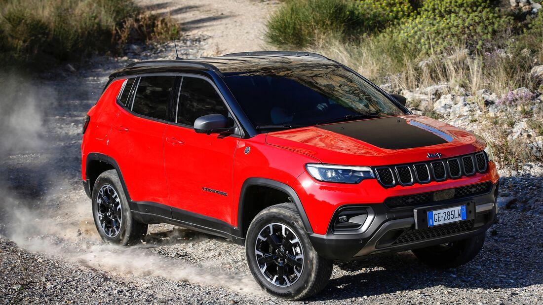 Jeep Compass Modelljahr 2021 Facelift