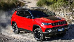 Jeep Compass Modelljahr 2021 Facelift