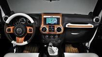 Jeep Conceptcar Nautical Wrangler, White, Cockpit