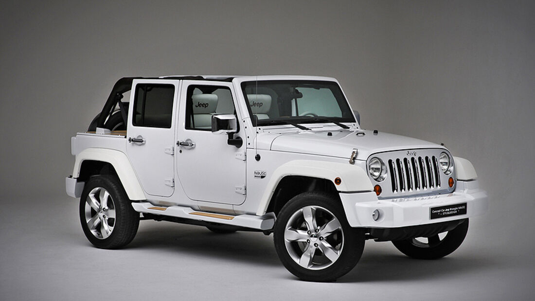 Jeep Conceptcar Nautical Wrangler, White, Front