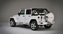 Jeep Conceptcar Nautical Wrangler, White, Heck