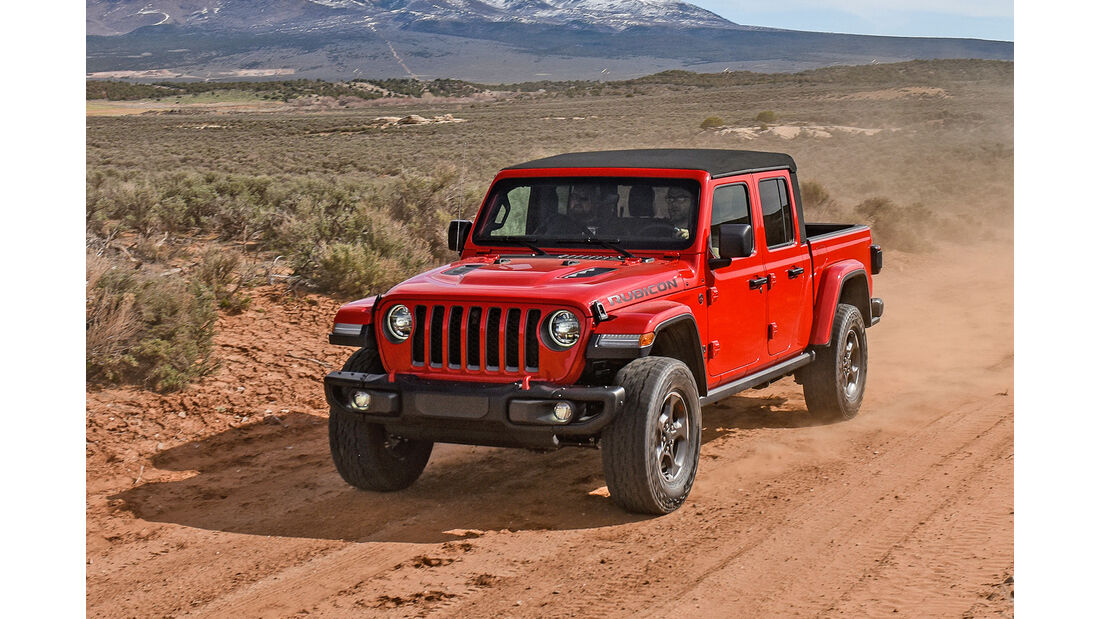 Jeep Gladiator Rubicon 2020 Fahrbericht