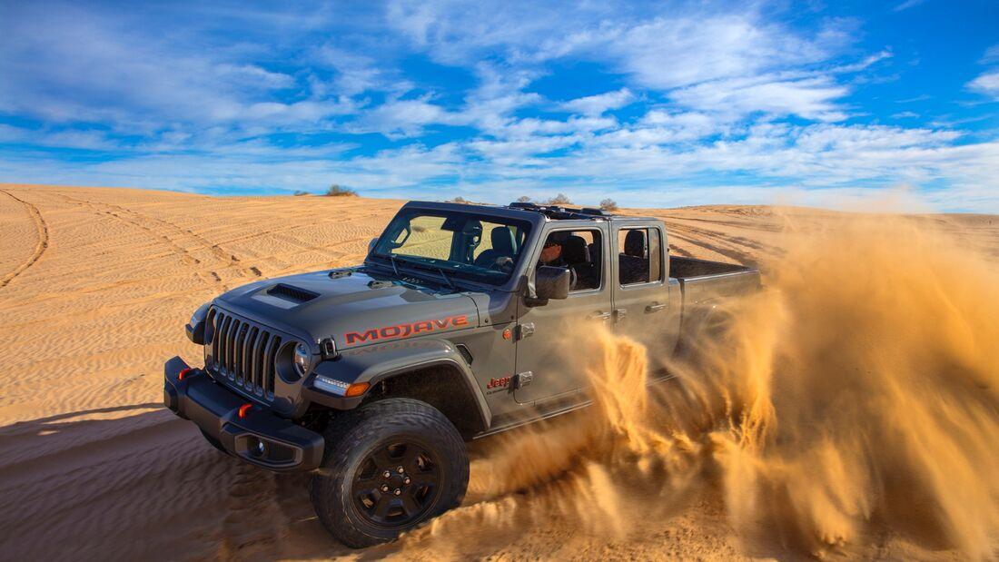 Jeep Gladiator Sondermodelle Mojave, Altitude, North Edition